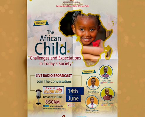 International day of the African Child, Alliances for Africa