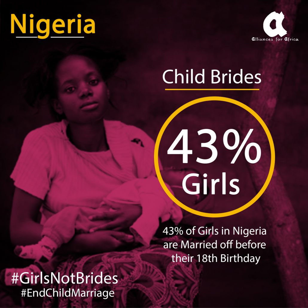 Girls not brides, girl marriage in Nigeria