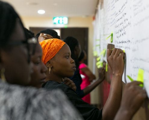 Alliances for Africa, AfA, RESULTS BASED PROGRAMMING TRAINING: USING EVIDENCE AS FUEL FOR WOMEN'S ORGANISATION