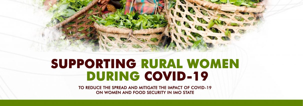 Supporting Rural Women Farmers during COVID-19